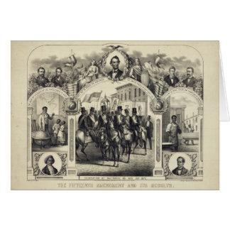 La décimo quinta enmienda constitucional y es resu tarjeta de felicitación