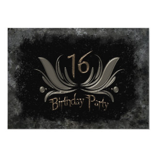La décimosexto invitación más fresca de la fiesta