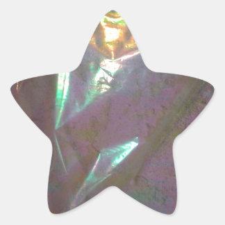 La décimotercero ronda colcomanias forma de estrellaes personalizadas