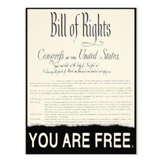 La Declaración de Derechos Membrete