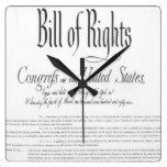 La Declaración de Derechos Relojes