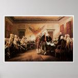 La Declaración de Independencia, el 4 de julio de  Posters
