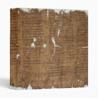 La declaración del papiro de los precios fechó 319
