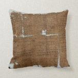 La declaración del papiro de los precios fechó 319 almohadas