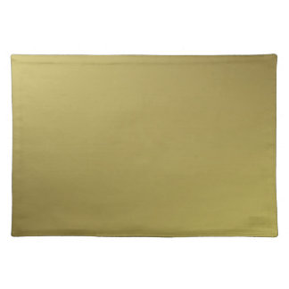 La decoración casera acentúa el oro suave manteles individuales