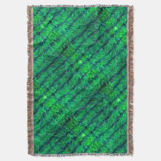 La decoración moderna de la cal texturiza la manta