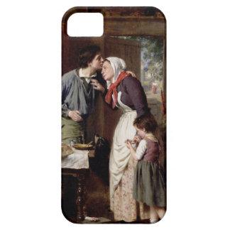 La dedicación de un hijo, 1868 (aceite en lona) iPhone 5 Case-Mate cárcasa