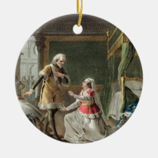 La dedicación heroica de la margarita de Provence  Ornaments Para Arbol De Navidad