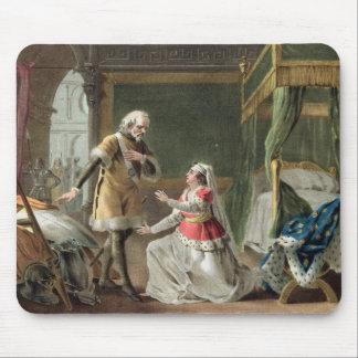 La dedicación heroica de la margarita de Provence Tapetes De Ratones
