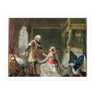 La dedicación heroica de la margarita de Provence  Tarjeta Postal