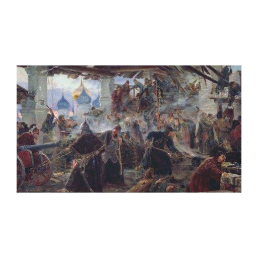 La defensa de la trinidad Sergius Impresiones En Lona Estiradas