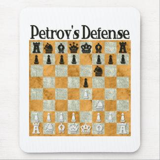 La defensa de Petrov Alfombrillas De Raton
