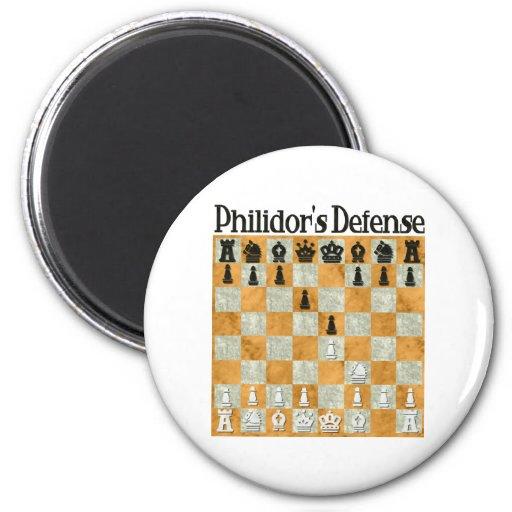 La defensa de Philidor Imán Redondo 5 Cm