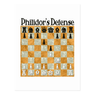 La defensa de Philidor Postal
