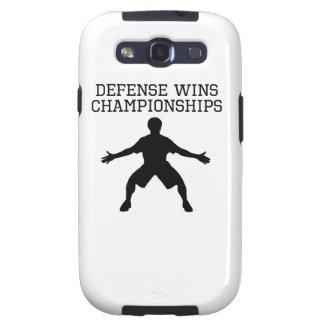 La defensa gana campeonatos galaxy SIII cobertura