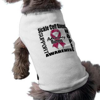 La defensa importa anemia de la célula falciforme  camisa de perro