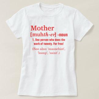 La definición de la madre polera