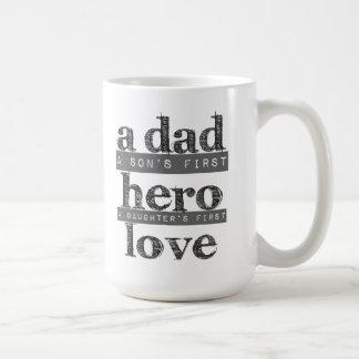 La definición de una taza de café del papá