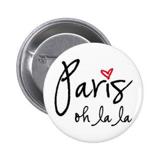 La del la de París oh Pin Redondo 5 Cm
