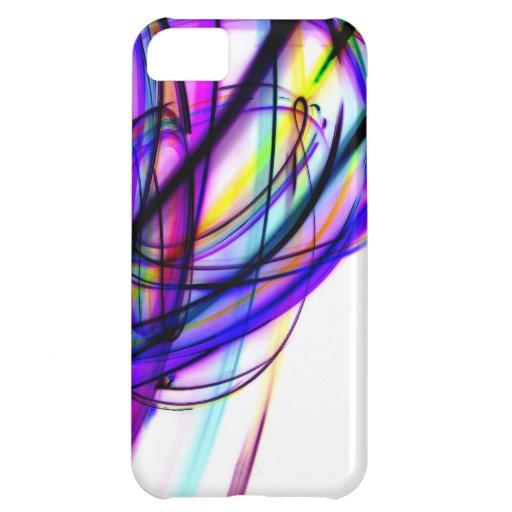 LA del laser Funda Para iPhone 5C