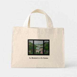 La Demoiselle et Le Licorne Totebag Mini Tote Bag