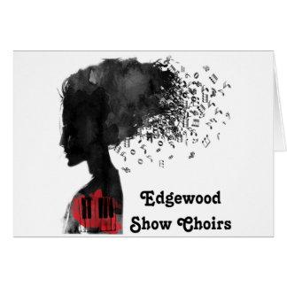 La demostración de Edgewood canta a coro tarjetas
