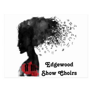 La demostración de Edgewood canta a coro tarjetas Tarjetas Postales