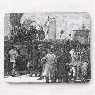 La demostración del Chartist en Kennington Mouse Pad