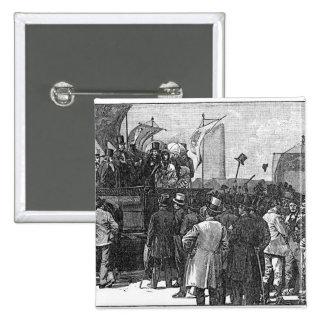 La demostración del Chartist en Kennington Pin Cuadrado