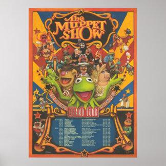 La demostración del Muppet - poster del viaje magn