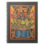 La demostración del Muppet - poster del viaje magn Cuaderno