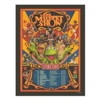La demostración del Muppet - poster del viaje Postal