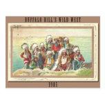La demostración del oeste salvaje 1905 de Buffalo  Tarjetas Postales