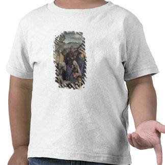 La deposición (aceite en lona) camisetas