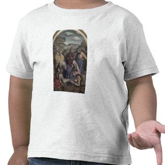 La deposición (aceite en lona) camiseta
