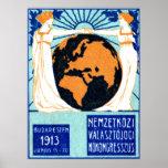 La derecha 1913 de la mujer de votar impresiones