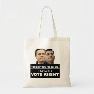 La derecha 2012 del voto bolsas