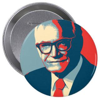 La derecha de Barry Goldwater Pin