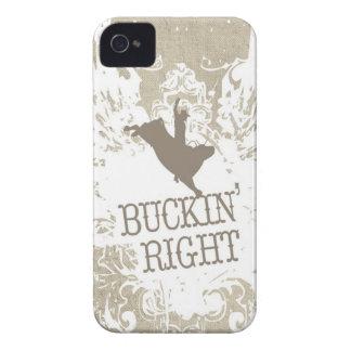 ¡La derecha de Buckin! Case-Mate iPhone 4 Carcasa