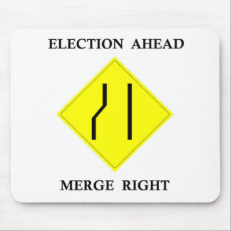 La derecha de la fusión de la elección a continuac tapete de ratón