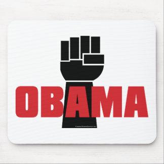 ¡La derecha de Obama encendido! Alfombrilla De Ratón
