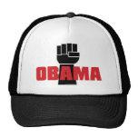 ¡La derecha de Obama encendido! Gorras