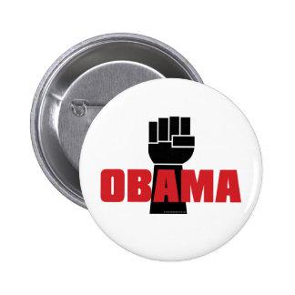 ¡La derecha de Obama encendido! Pins