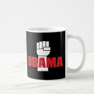 ¡La derecha de Obama encendido! Tazas De Café