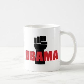 ¡La derecha de Obama encendido! Tazas