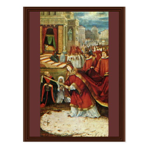 La derecha del altar de Aschaffenburg: Fundación d Tarjeta Postal