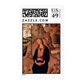 La derecha del tríptico de Galitzine: St Mary Envio