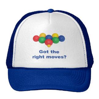 La derecha mueve la bola de Bocce Gorra