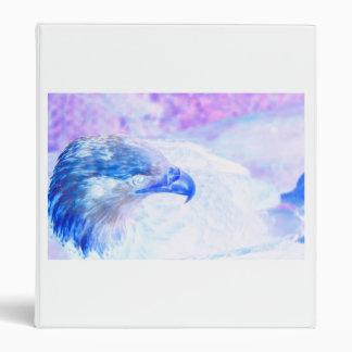 la derecha púrpura azul del revestimiento del águi