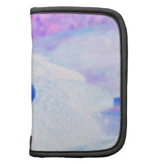 la derecha púrpura azul del revestimiento del águi planificador